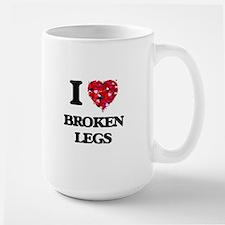 I love Broken Legs Mugs