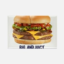 BIG AND JUICY BURGER 10BY10 Magnets