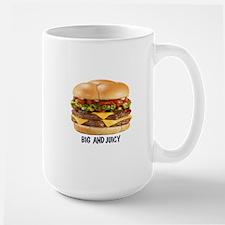 BIG AND JUICY BURGER Mugs