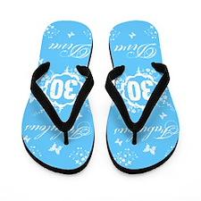 30th Birthday Fabulous Flip Flops