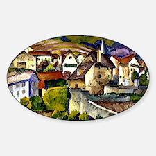 Mashkov - Town in Switzerland Sticker (Oval)