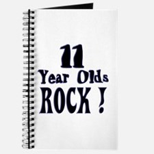 11 Year Olds Rock ! Journal