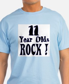 11 Year Olds Rock ! T-Shirt