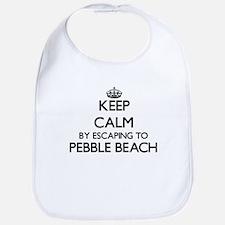 Keep calm by escaping to Pebble Beach Californ Bib