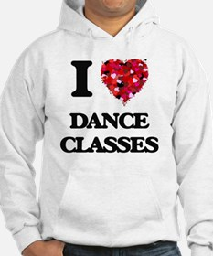 I love Dance Classes Hoodie