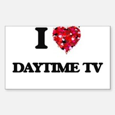 I love Daytime Tv Decal
