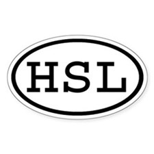 HSL Oval Oval Decal