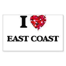 I love East Coast Decal