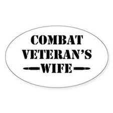 Combat Veteran's Wife Decal