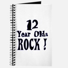 12 Year Olds Rock ! Journal