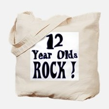 12 Year Olds Rock ! Tote Bag