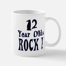 12 Year Olds Rock ! Mug
