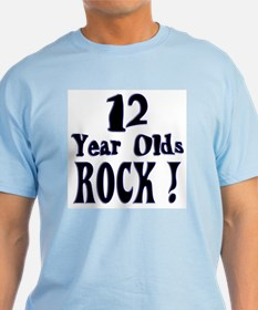 12 Year Olds Rock ! T-Shirt