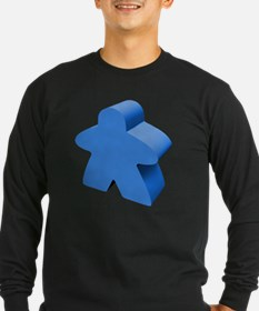 Blue Meeple Long Sleeve T-Shirt