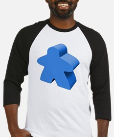 Blue Meeple Baseball Jersey