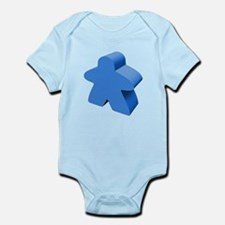 Blue Meeple Body Suit