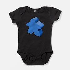 Blue Meeple Baby Bodysuit