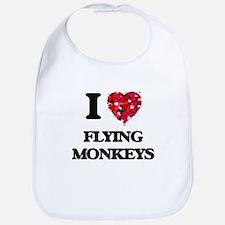 I love Flying Monkeys Bib