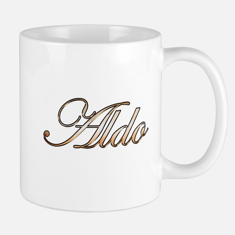 Aldo in Gold Mugs