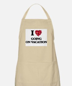 I love Going On Vacation Apron