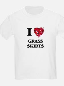 I love Grass Skirts T-Shirt