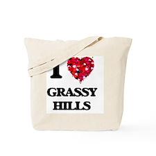 I love Grassy Hills Tote Bag