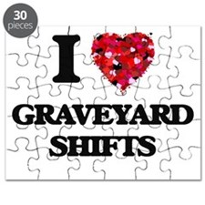 I love Graveyard Shifts Puzzle