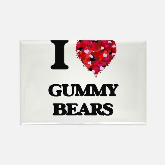 I love Gummy Bears Magnets