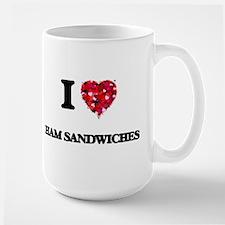 I love Ham Sandwiches Mugs