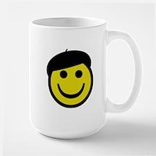 Je suis heureux Mugs