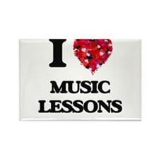 I love Music Lessons Magnets