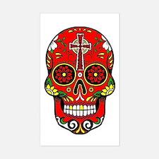 Cute Mexican sugar skulls Decal