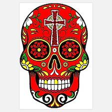 Sugar skulls Wall Art