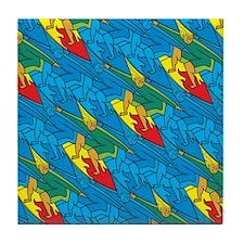 Surfer Tessellation Tile Coaster