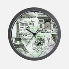 Paris 4 Wall Clock