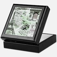 Paris 4 Keepsake Box