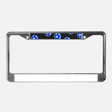 Artistic Cool Soccer Football License Plate Frame