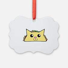 Taco Cat Ornament
