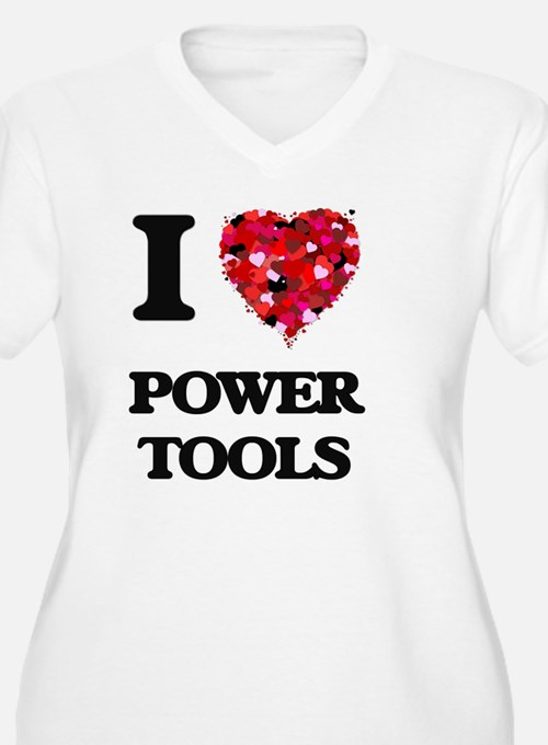 I love Power Plus Size T-Shirt