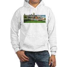 Old Quebec Panoramic View Hoodie