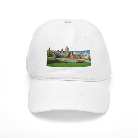 Old Quebec Panoramic View Cap