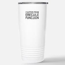 Erectile Function Stainless Steel Travel Mug