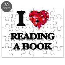 I love Reading A Book Puzzle