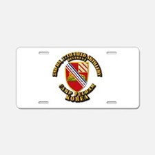 2nd Bn 17th Field Artillery Aluminum License Plate