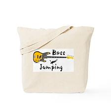 Bass Jumping Tote Bag