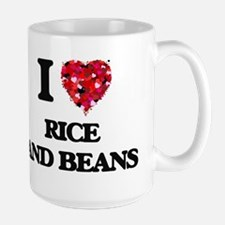 I love Rice And Beans Mugs