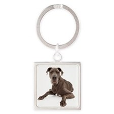 Unique Rescue Square Keychain