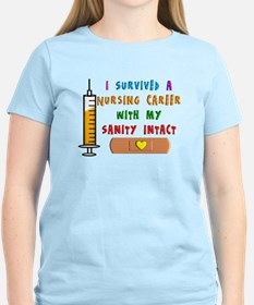 i survived a nursing career PILLOW T-Shirt