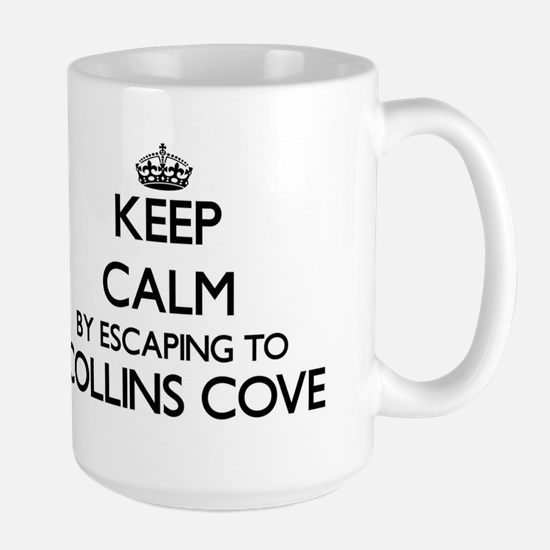 Keep calm by escaping to Collins Cove Massach Mugs
