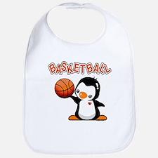 Basketball Penguin Bib